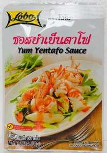 Yum Yentafo Sauce 60gr. ซอสยำเยนตาโฟ