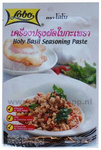 Holy basil seasoning paste