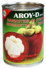 Mangosteen in Siroop