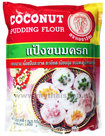 Coconut Pudding Flower